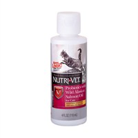 Nutrı-Vet Probiotics With Wild Alaskan Salmon Oil 118 Ml - Kediler için Vahşi Alaska Somonu Yağlı Probiotik