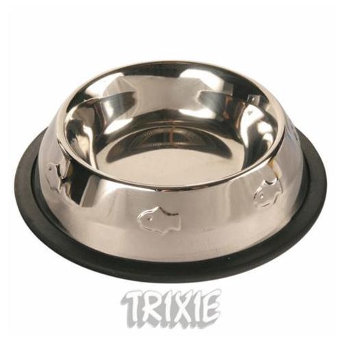 Trixie Balık Desenli Paslanmaz Çelik mama kabı 0,2lt 11cm