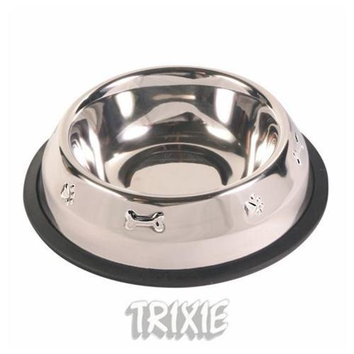 Trixie Balık Desenli Paslanmaz Çelik mama kabı 0,45 lt 13cm