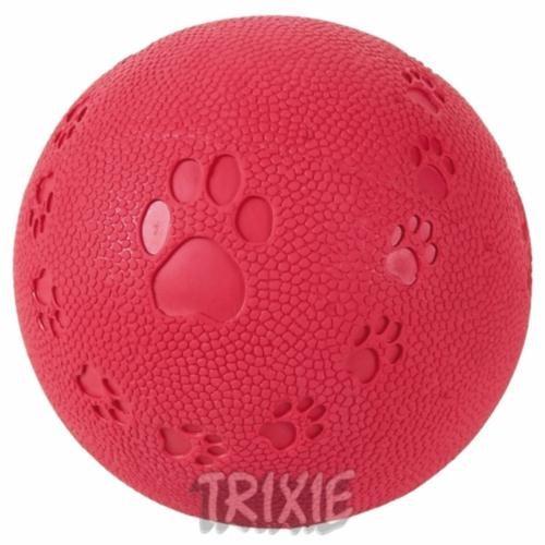 Renkli Sesli Natürel Kauçuk Köpek Oyuncak Top 7cm