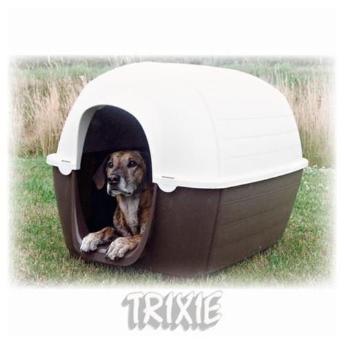 Köpek Kulübe 4 Mevsim Kahverengi-Bej, L 100Cm Kapalı Ürün