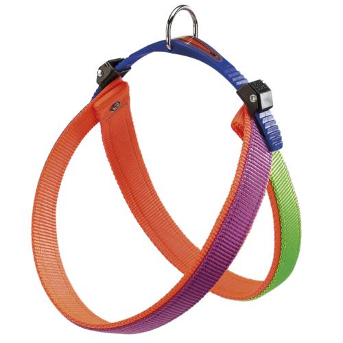 Ferplast Agila Colors 3 Harness Purp-Or-Göğüs Tasması