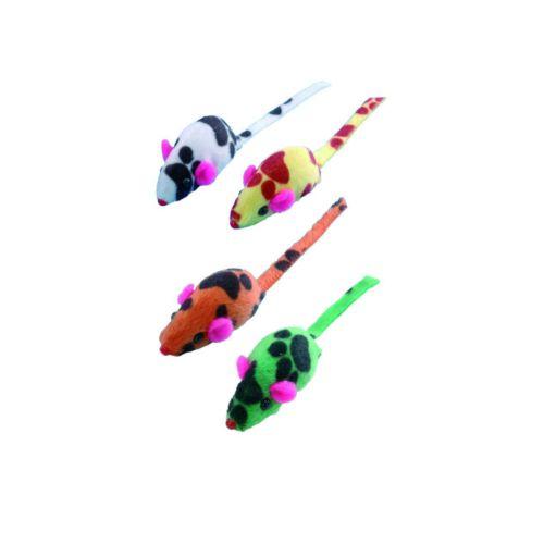Nobby Çıngıraklı 4'lü Peluş Fare 4 cm