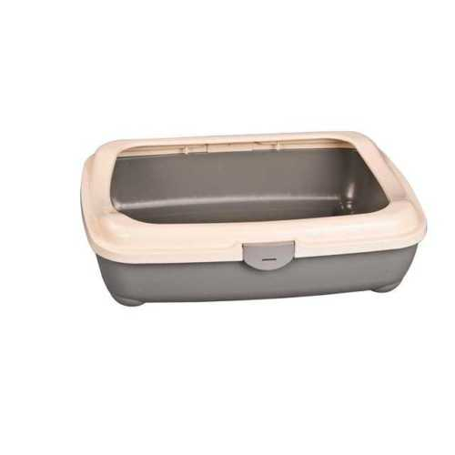 Afp 2204 Kitty Litter W Hinge Cover Kedi Tuvaleti 49X38X15Cm