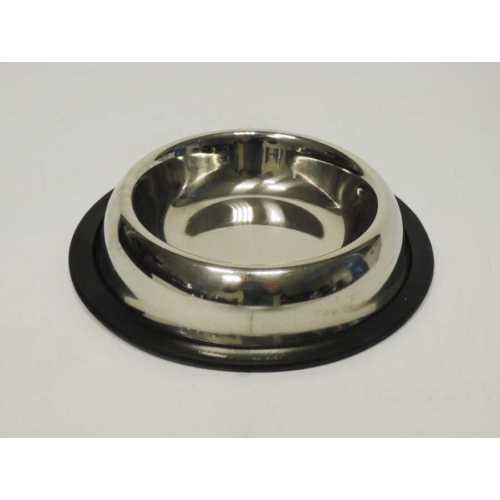 Fatih-Pet Asb- 8 Belly Shape Bowls 8 Oz /Çelik Mama Kabı