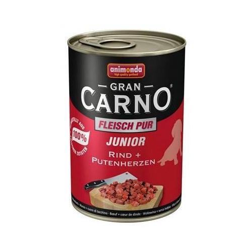Animonda Gran Carno Sığır Etli Ve Hindili Yavru Köpek Konservesi 400 Gr