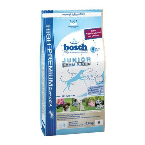 Bosch Junior Lamb Rice Kuzu Etli Ve Pirinçli Yavru Köpek Maması 3 Kg