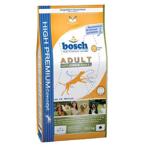 Bosch Adult Kümes Hayvanli Yetişkin Köpek Maması 15 Kg