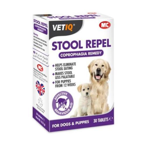 Mc Vetiq Stool Repel Köpekler İçin Dişki Yeme Önleyici Tablet 30 Adet