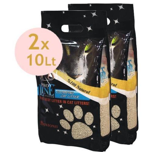 Proline Topaklaşan Kedi Kumu 2X10 Lt Parfümlü