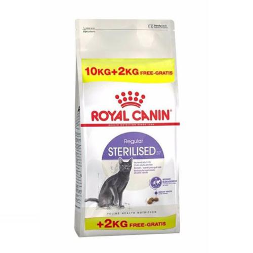 Royal Canin Sterilised 37 Kısırlaştırılmış Kedi Maması 10 + 2 Kg