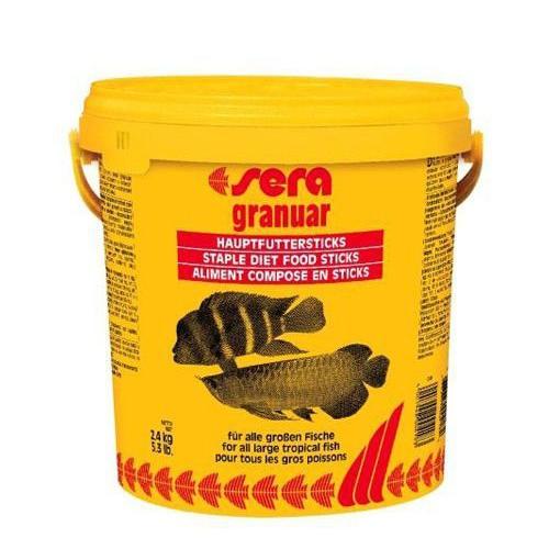 Sera Granuar Büyük Cichlid Balık Yemi 10 Lt - 2.4 Kg