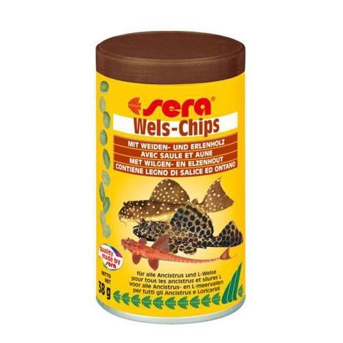 Sera Wels-Chips Çöpçü Balık Yemi 100 Ml - 38 Gr