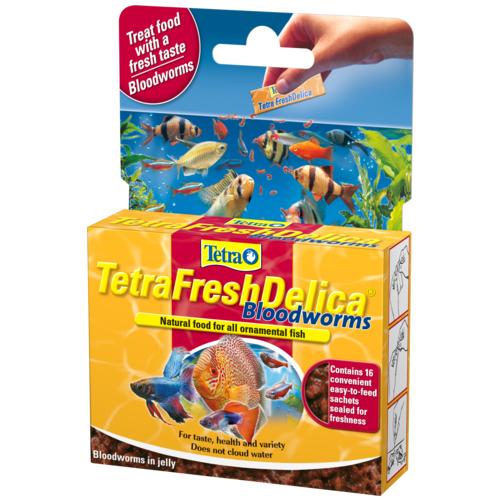 Tetra Fresh Delica Bloodworms 48 Gr