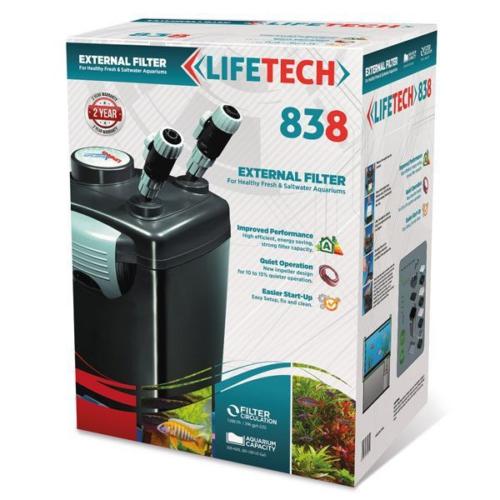Life Tech 838 Akvaryum Dış Filtre 4 Kovali Full Dolu 1200 L - H 28W