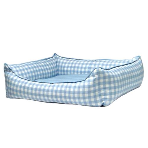 Bronza Soft Kedi-Köpek Yatağı No: 5 80x90x15 Mavi
