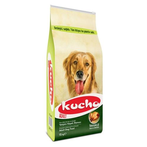 Kucho Adult Dog Tavuklu Yetişkin Köpek Maması 15KG