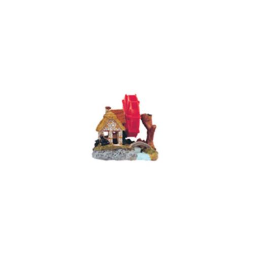 Xiongfa Akvaryum Dekoru Değirmen 11X8X9