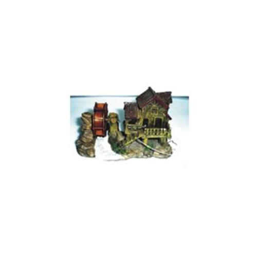 Xiongfa Akvaryum Dekoru Su Değirmeni 11X6X7
