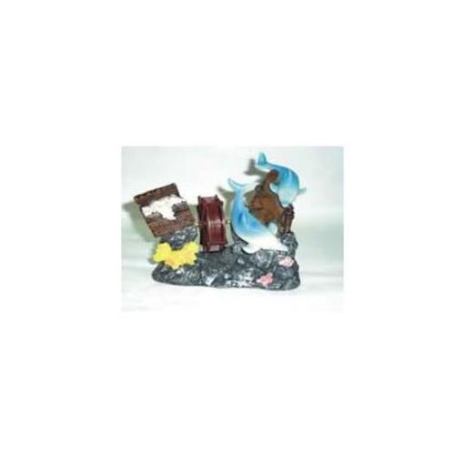 Xiongfa Akvaryum Dekoru Değirmen 13X6X12