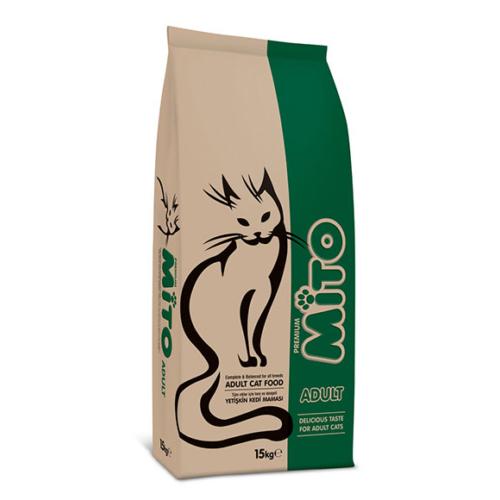 Mito Tavuklu-Balıklı Yetişkin Kedi Maması 1Kg