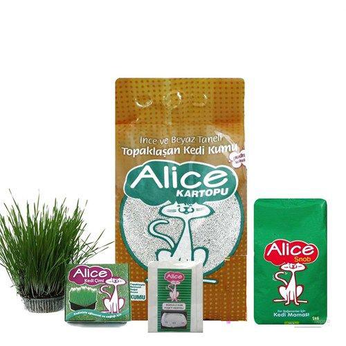 Alice Kedi Sepeti Set 2