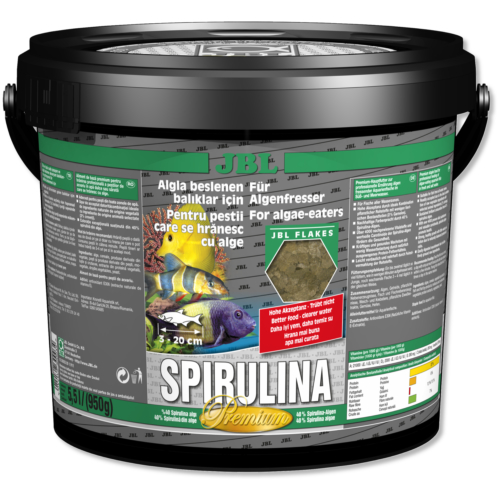 JBL %40 Spirulina 5.5 lt Kova Balık Yemi