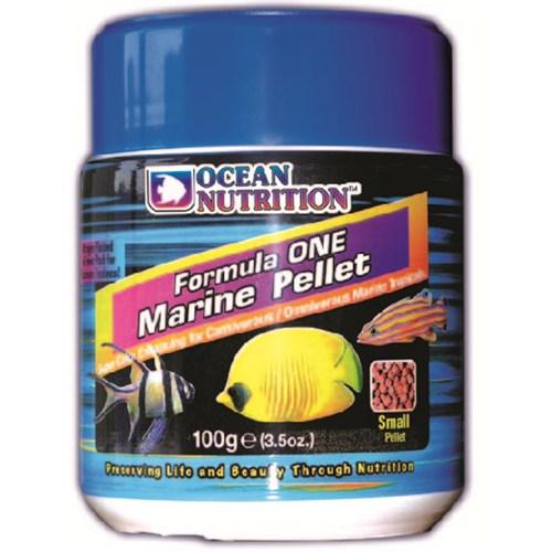 Ocean Nutrition Formula 1 Marine Pellet Med-400 Gr. Deniz Balıkları için Etçil Granül Yem