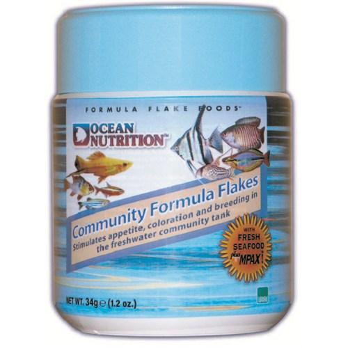 Ocean Nutrition Community Formula Flake - 34 Gr. Karma Akvaryumlar için Pul Yem