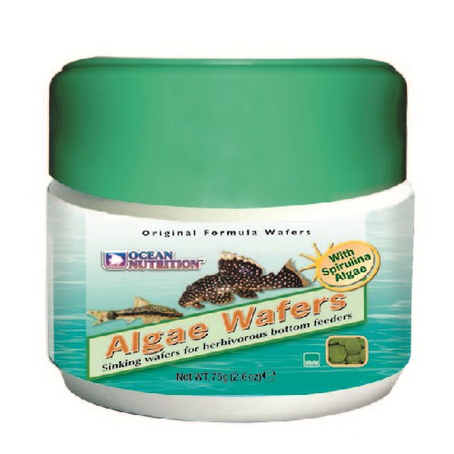 Ocean Nutrition Algae Wafers 75Gr. Otçul Balık Yemi