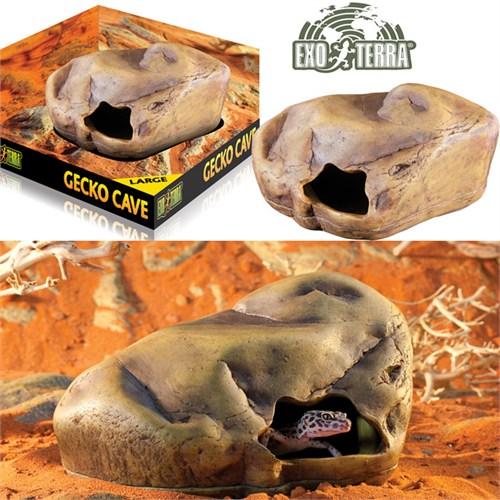 Exo Terra Gecko Cave Sürüngen Mağarası Large Pt2866