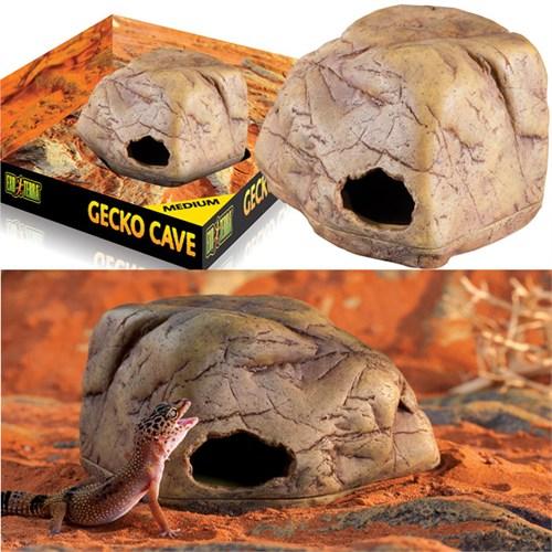 Exo Terra Gecko Cave Sürüngen Mağarası Medium Pt2865