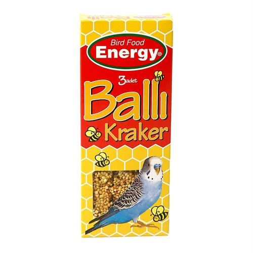 Bird Food Energy Energy® Ballı Kraker(100G)