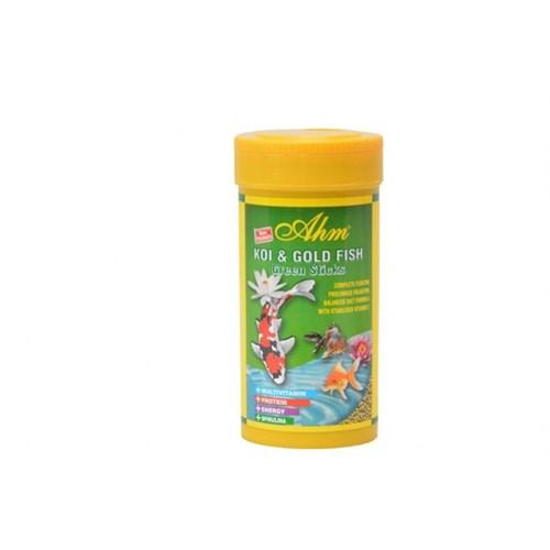 Ahm Marin Bitkisel Koi Ve Japon Balık Yemi 250Ml