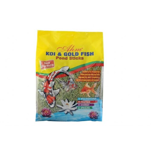 Ahm Marin Bitkisel Koi-Japon Balık Yemi 1 Kg