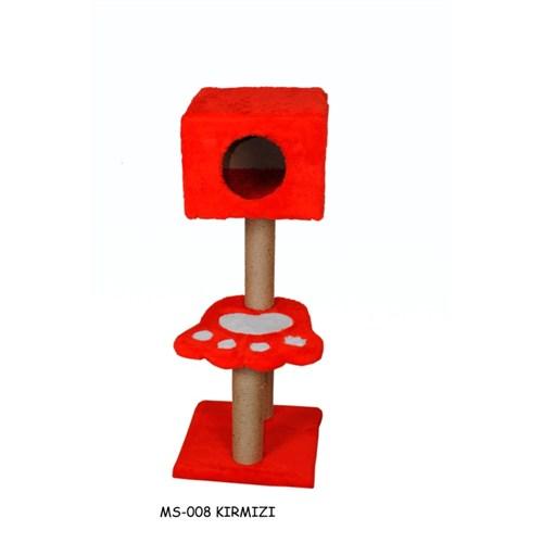 Miss Pati Katlı Tırmalama Ve Oyun Standı Kırmızı