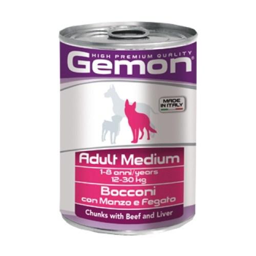 Gemon Yeni Konserve Yetişkin Köpek Sığır Ciğer 415 Gr