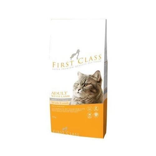 First Class Kuzu Etli Pirinçli Yetişkin Kedi Maması 2 Kg