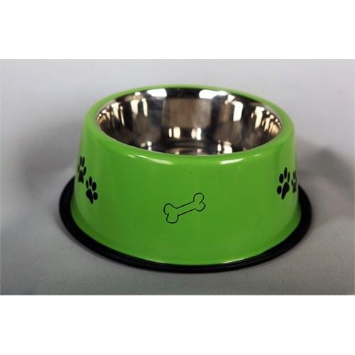 Pet Creaing 64 Oz Renkli Baskılı Köpek Mama Kabı