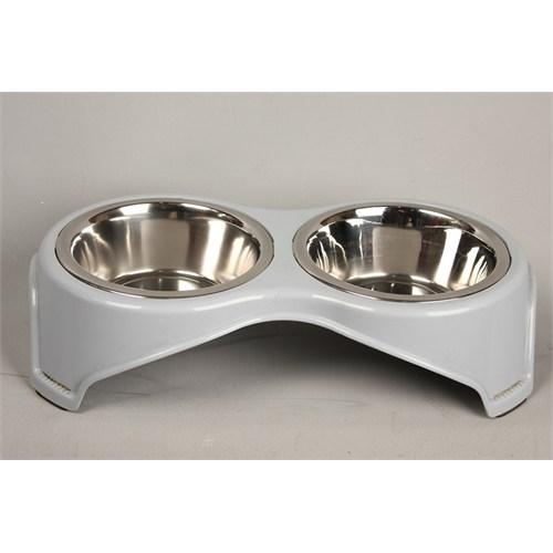 Pet Creaing Köpek Çelik Mama Kabı