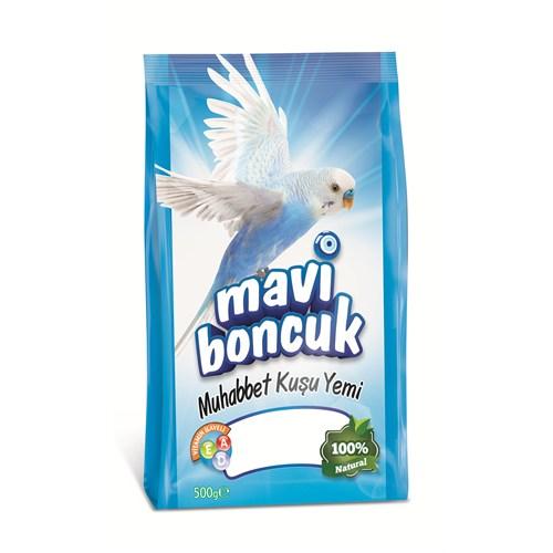 Mavi Boncuk Muhabbet Kuşu Yemi 500 Gr fd FD*