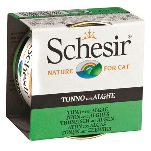 Schesir Cat Jelly Ton Balıklı Ve Deniz Bitkili Kedi Konservesi 85 Gr