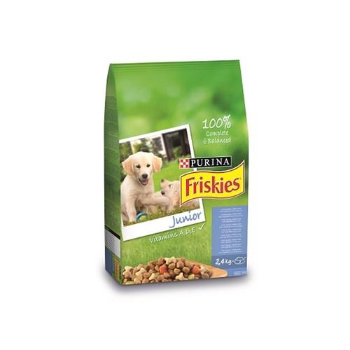 Friskies Tavuklu Sütlü Ve Sebzeli Yavru Köpek Maması 2.4Kg