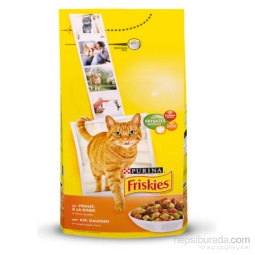 Friskies Tavuklu Ve Sebzeli Yetişkin Kedi Maması 10Kg