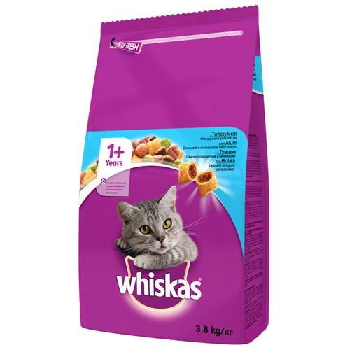 Whiskas Kuru Erişkin Ton Balıklı Kedi maması 3,8 kg