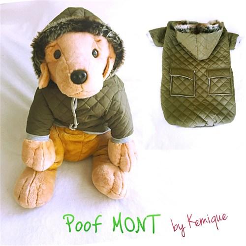 Poof By Kemique Köpek Montu Koyu Yeşil 6Xl