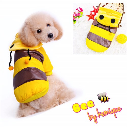 Bumble Bee Puf Mont Bee By Kemique M