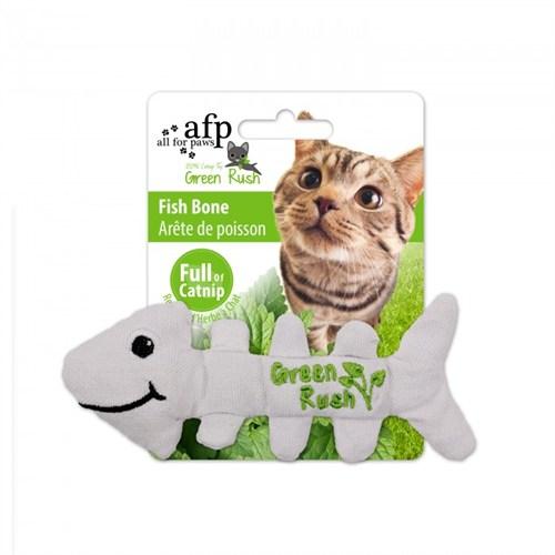 Allforpaws Balık Kılçığı Ketnipli Kedi Oyuncak (12 Gr Ketnip)