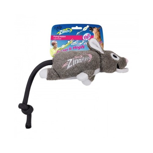 Allforpaws Zınger Uçan Tavşan Köpek Oyuncağı