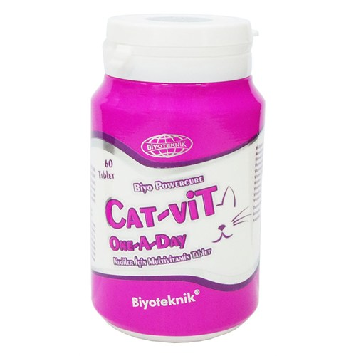 Biyoteknik Catvit One A Day 60 Tablet